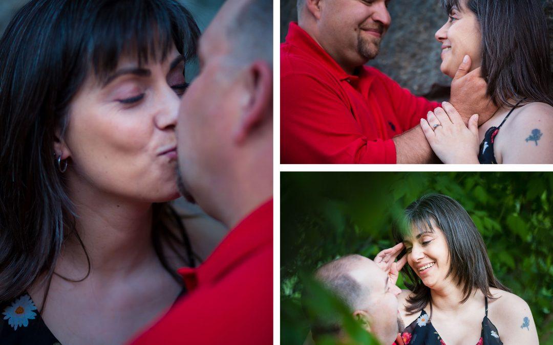 Maine Engagement Photography | Caribou, Maine | Stacie & Erik