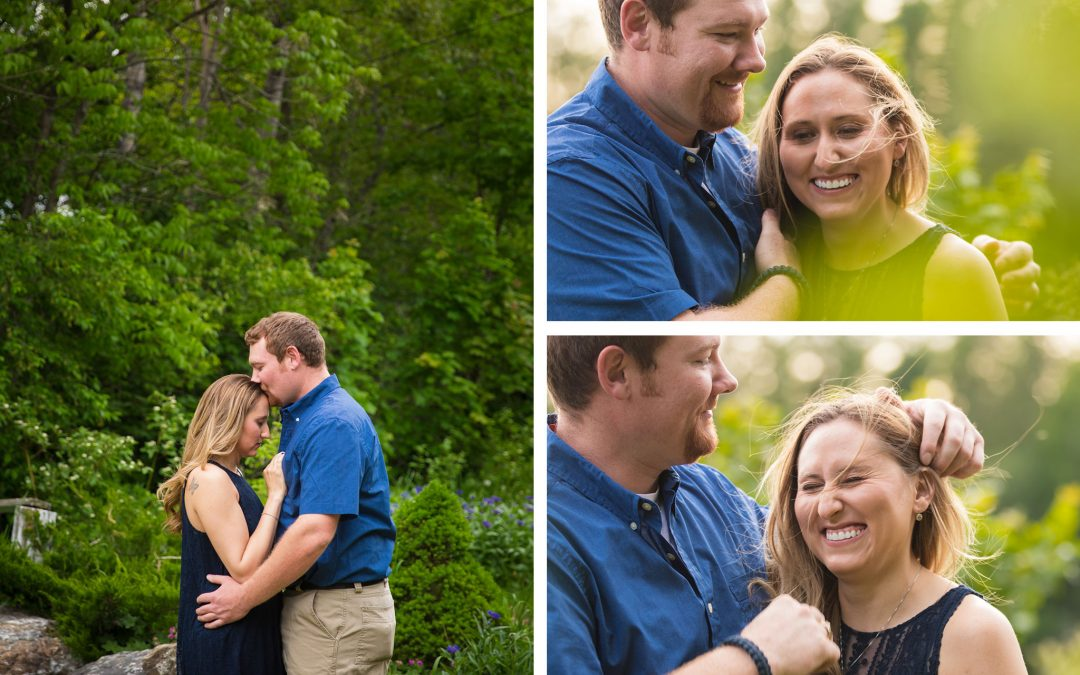 Mantle Lake Park Engagement Photography | Presque Isle, Maine | Stacey & Kevin