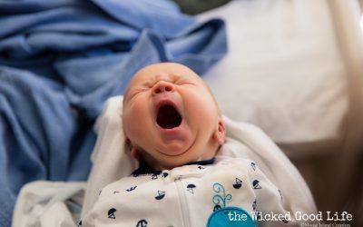 Caribou, Maine Newborn Photography | Baby Sebastian