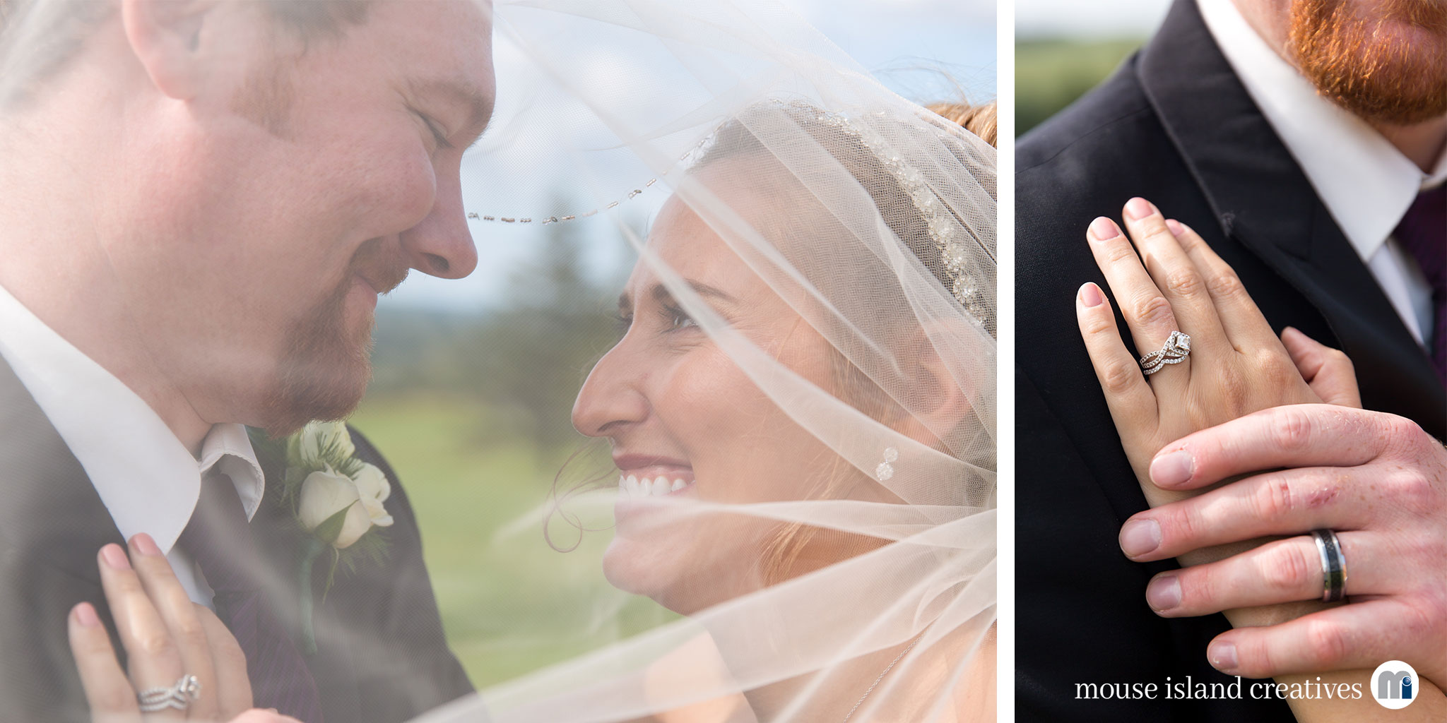 07-Presque Isle Maine Country Club Wedding Engagement Couples Portrait Photography