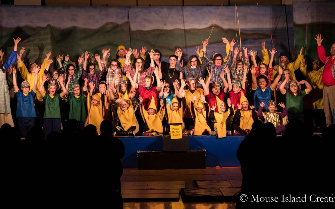 The Fisherman and His Wife – Cast | Washburn Elementary School | Washburn, Maine | Maine Event Photography