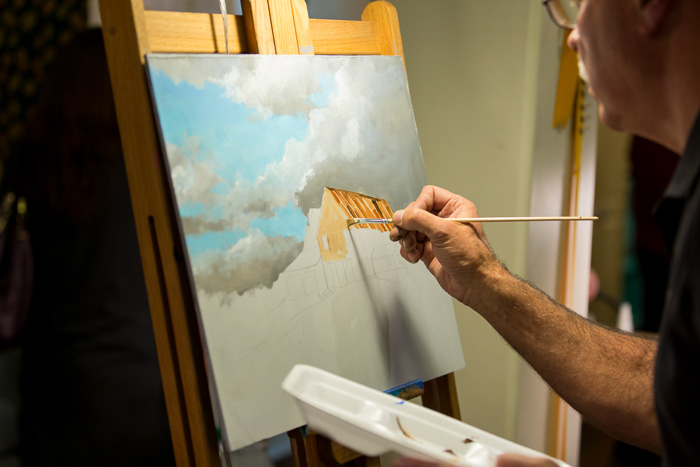 Wintergreen Arts Center Event Photography   Presque Isle, Maine   Brews & Brushes 2018