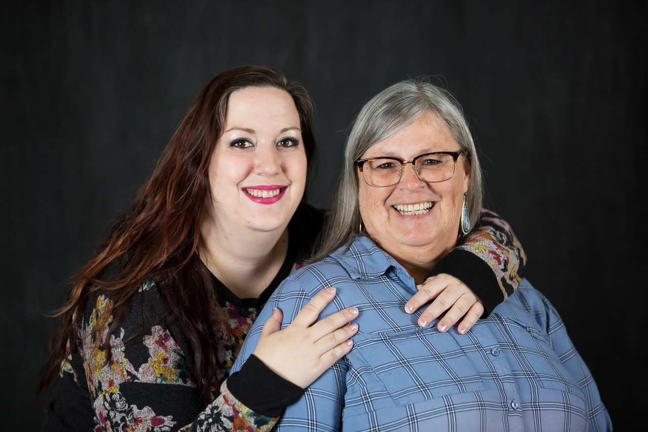 mother daughter studio portraits mouse island creatives photography