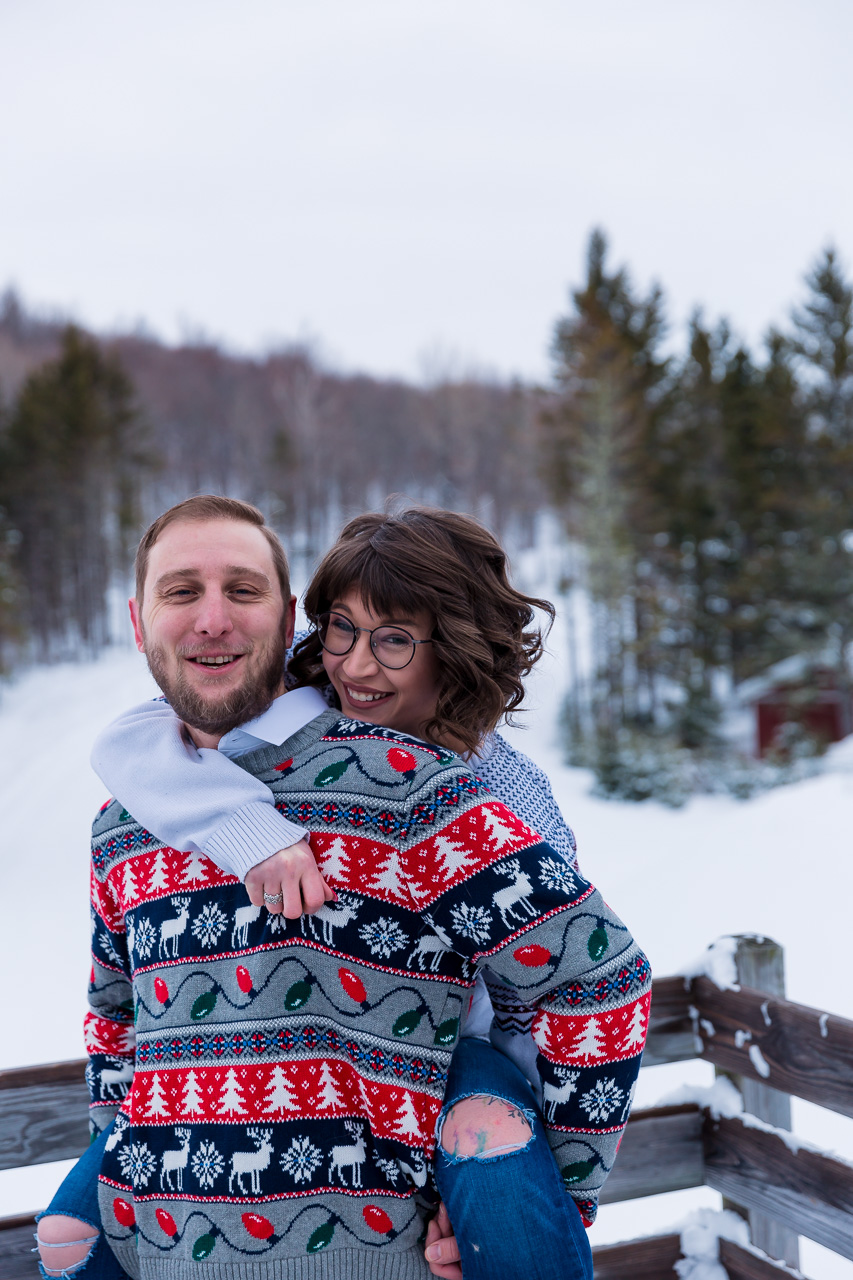 Hallowell Maine Winter couples portraits engagement photographer mouse island creatives wedding photography senior photos