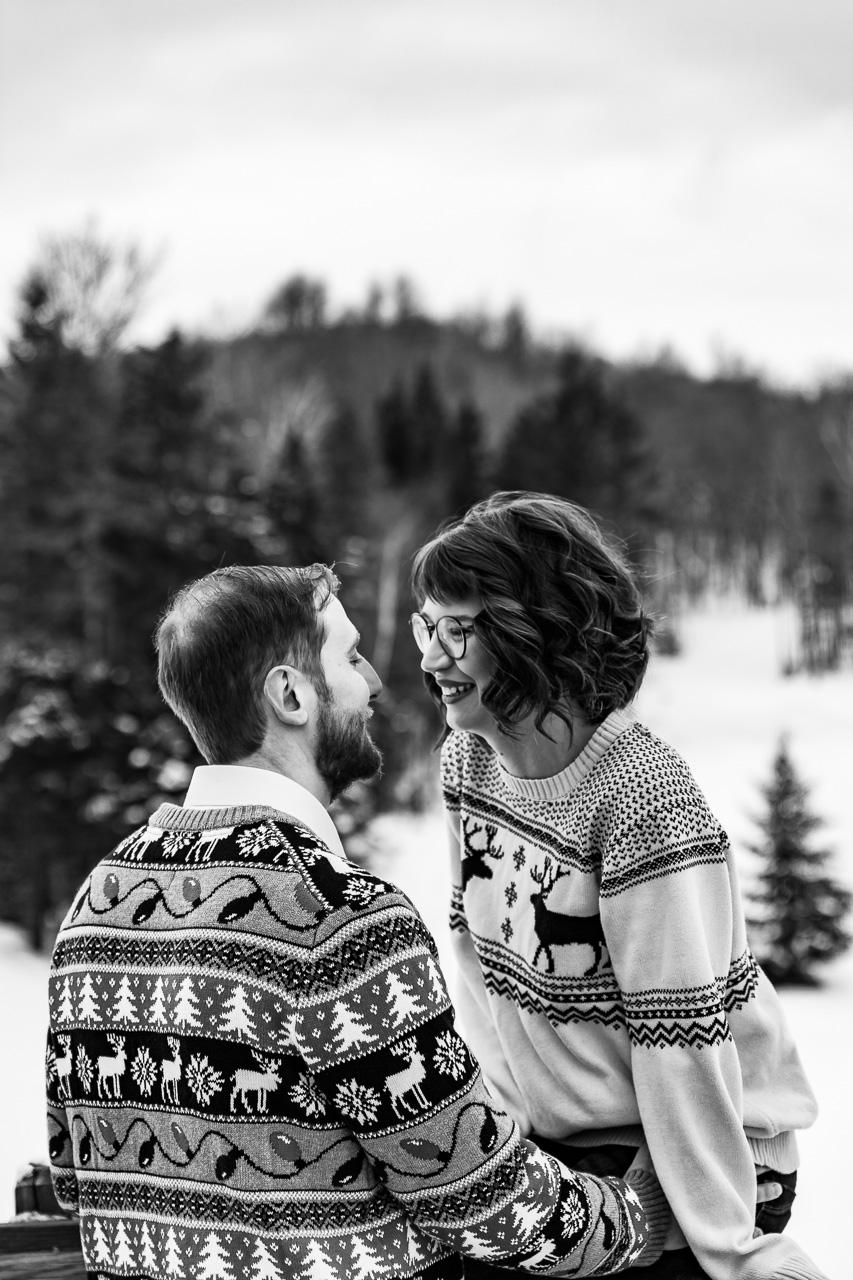 New Hampshire couples portraits engagement photographer mouse island creatives wedding photography studio senior photos headshots black white