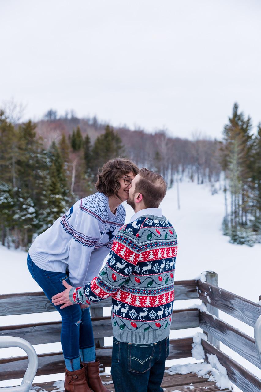 Portland Maine Winter couples portraits engagement photographer mouse island creatives wedding photography senior photos