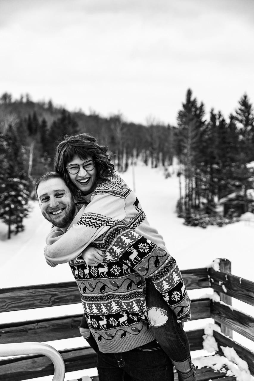 Rockland Maine Winter couples portraits engagement photographer mouse island creatives wedding photography senior photos black white